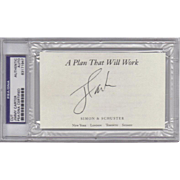 President Jimmy Carter Certified & Encased Signature! (2)