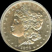 Rare Date 1878 S Morgan Silver Dollar! Graded MS64 DMPL!!