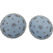 2  Austrian Antique Oyster Plates made in Austria by o and e ruby 8 1 ...