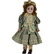 "French Bisque Bebe Dep, 19"", with Closed Mouth, For the French Market"