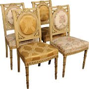 19th Century French Chairs In Louis XVI Style