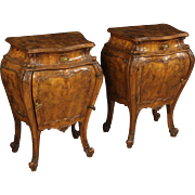 20th Century Venetian Bedside Tables
