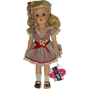 """Toni Walker Doll Ideal Blonde 14 1/2"""" in Original Box with Play Wave Set ..."""