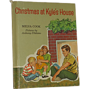 Christmas at Kyle's House Children's Book by Melva Cook Broadman Press 1964