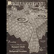 Bucilla Cottons Volume 106 Exquisite Hand Crocheted Bedspreads Banquet Cloths Crochet Book 193
