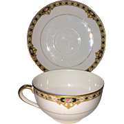 Nippon Marked Noritake Cups and Saucers