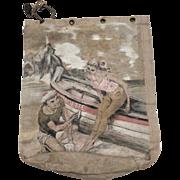 Sailors hand painted bag