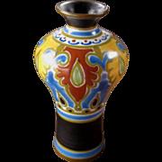 Gouda Pottery Vase, Emmy Design, Circa 1926