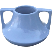 Large Haeger Pottery Eve Vase, Arts and Crafts, Craftsman Style, Circa 1920s, Periwinkle Blue