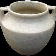 Burley Winter Pottery Vase, Craftsman, Mission, Cottage Chic, Vintage 1930s, Matte Gray
