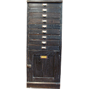 Late 19th, Early 20th Century Antique Philadelphia Museums Cabinet - Containing 9 Exhibits - .
