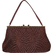 1930s French Steel Bag