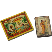 Two Cigarette tins, c. 1920 - 1930