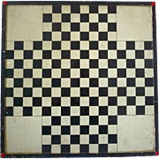 New England Black & White  Gameboard Game Board two sides