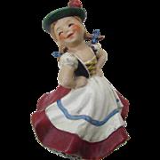 SALE Stunning signed W. Goebel - W. Germany dancing girl - musical / musical box / turns