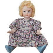 All Bisque Antique Miniature Doll House Doll