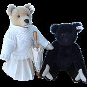 Steiff Limited Edition Pat & Nora Teddy Bears