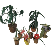 Vintage Miniature Plants for the Doll House