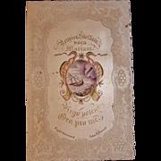 1849 Civil War Union Activist Memento of Historical Archbishop John B. Purcell