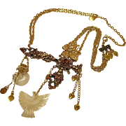 SALE Collage Necklace 'Born Again Bling' by Josty
