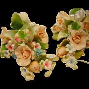 SALE Vintage Floral Bouquet Sprig's or Spray's