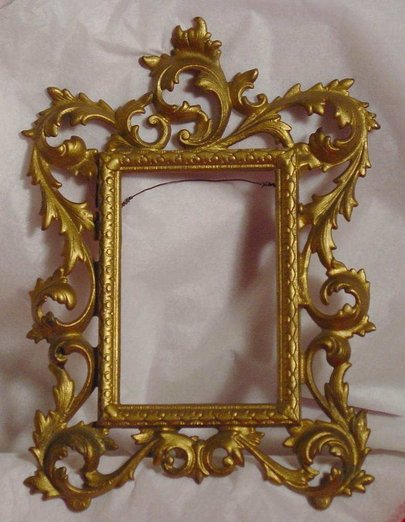 Late 1800's era Antique Victorian Frame