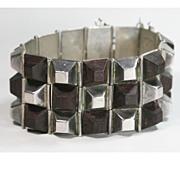 Spratling Mexican Silver Rosewood Bracelet
