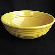 Yellow Bauer Ring Ware Mixing / Serving Bowl No. 8