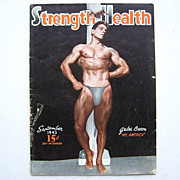 SALE 1943 Muscle Magazine Strength & Health Jules Bacon Mr. America