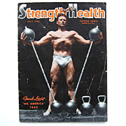 SALE Muscle Magazine Strength & Health 1942 Mr. America Frank Leight