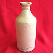 Stoneware Carter's Ink Bottle c. 1900 Enterprise Pottery Co. New Brighton PA