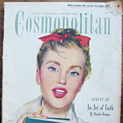 Cosmopolitan Magazine for Women August 1946
