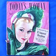 Today's Woman Magazine November 1946 w. Hedy Lamarr
