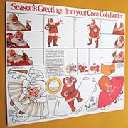 1970s Coca-Cola Santa Christmas Gift Tags & Cut-Outs Haddon Sundblom
