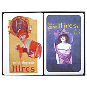 SALE 2 Decks Hires Root Beer Playing Cards by Liberty in Box