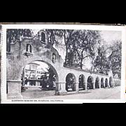 Rare Glenwood Mission Inn 15 Postcards Booklet c. 1920 Riverside Calif.