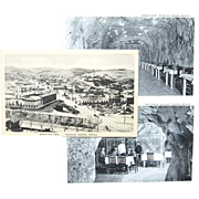 SOLD 3 Real Photo Postcards Nogales Sonora Mexico Cave / Caverns Restaurant