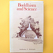 Buddhism and Science Rare Book by Kirthisinghe