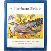 BLACKBURN'S BIRDS Paintings of Jemima Blackburn 1st Ed.