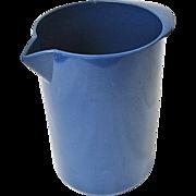 SALE Mid-Century Blue Rosti Denmark Mepal Melamine Utensil Holder Heiner Boberg 2511