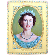 Queen Elizabeth II Coronation Tin 1953  W. & M. Duncan Chocolates