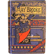 SALE The Trials of May Brooke 1896 Edition by Important Catholic Writer  Anna H. Dorsey