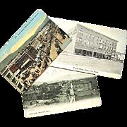 3 Real Photo Postcards Wenatchee Washington c. 1915