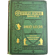 Dombey and Sons by Charles Dickens 1873 Household Edition