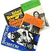 Richard Brautigan Boxed Set: The Abortion, Revenge of the Lawn, the Hawkline Monster