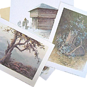 Ben Hampton Five Killer Heritage Series 3 Initialed Prints in Folder