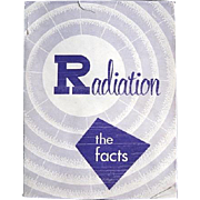 """Cold War Era Pamphlet on Radiation """"The Facts"""" by Sandia Labs"""