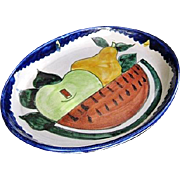 Mexican Pottery Platter from Amora Talavera in Dolores Hidalgo