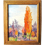 SALE Original Landscape Oil Painting by Washington State Artist Patrick Fleming