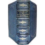 SALE Antique French Dictionary Dictionnaire de la Langue Française 1900